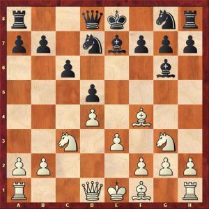 30 august  IZ poate juca albul Nd3